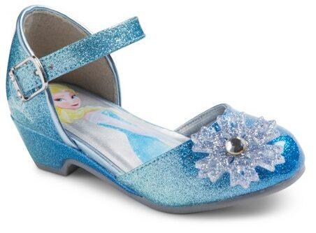 Disney Frozen Toddler Girl's Ballet Shoes $9.98 (Reg $19.99)