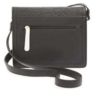 Emperia Alex Faux Leather Crossbody Bag