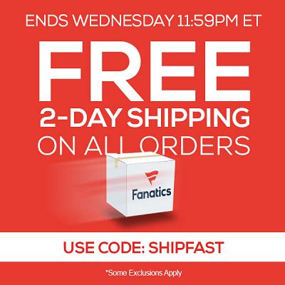 Fanatics FREE Shipping