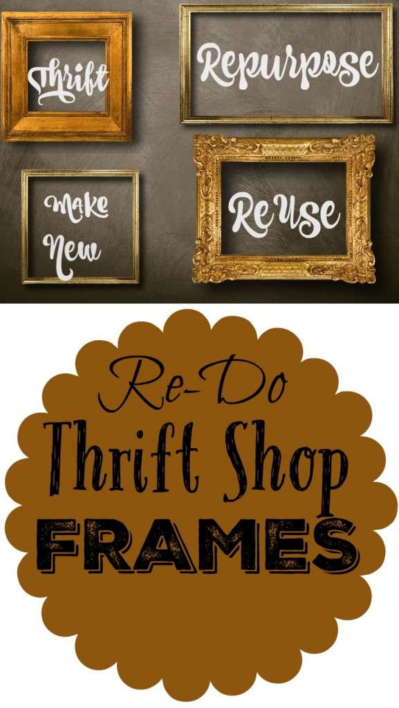 7 Ways To Re-purpose Frames & New Value Village Drop Locations!