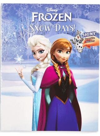 Frozen Snow Days Sticker Activity Book