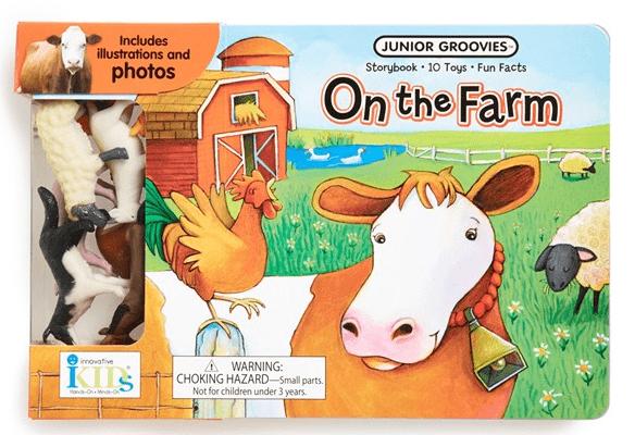 Innovative Kids Junior Groovies Book & Toy Set