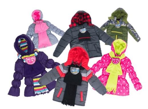 Kids' Coat, Hat & Scarf or Coat & Hat Sets