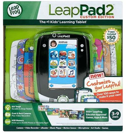 LeapFrog LeapPad2 Custom Edition Kids Tablet for Learning