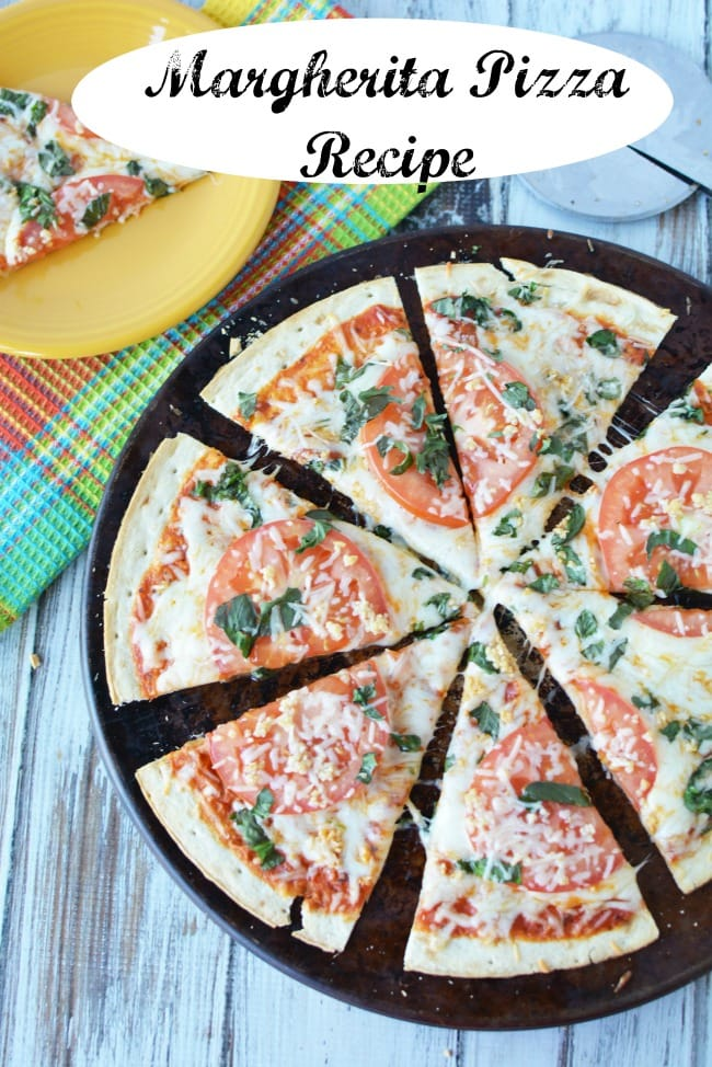 margherita pizza recipe