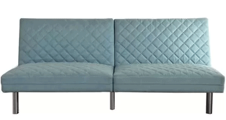 Quilted Memory Foam Futon
