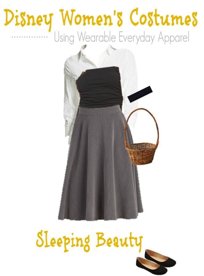 Diy Disney Sleeping Beauty Costume For Women Using