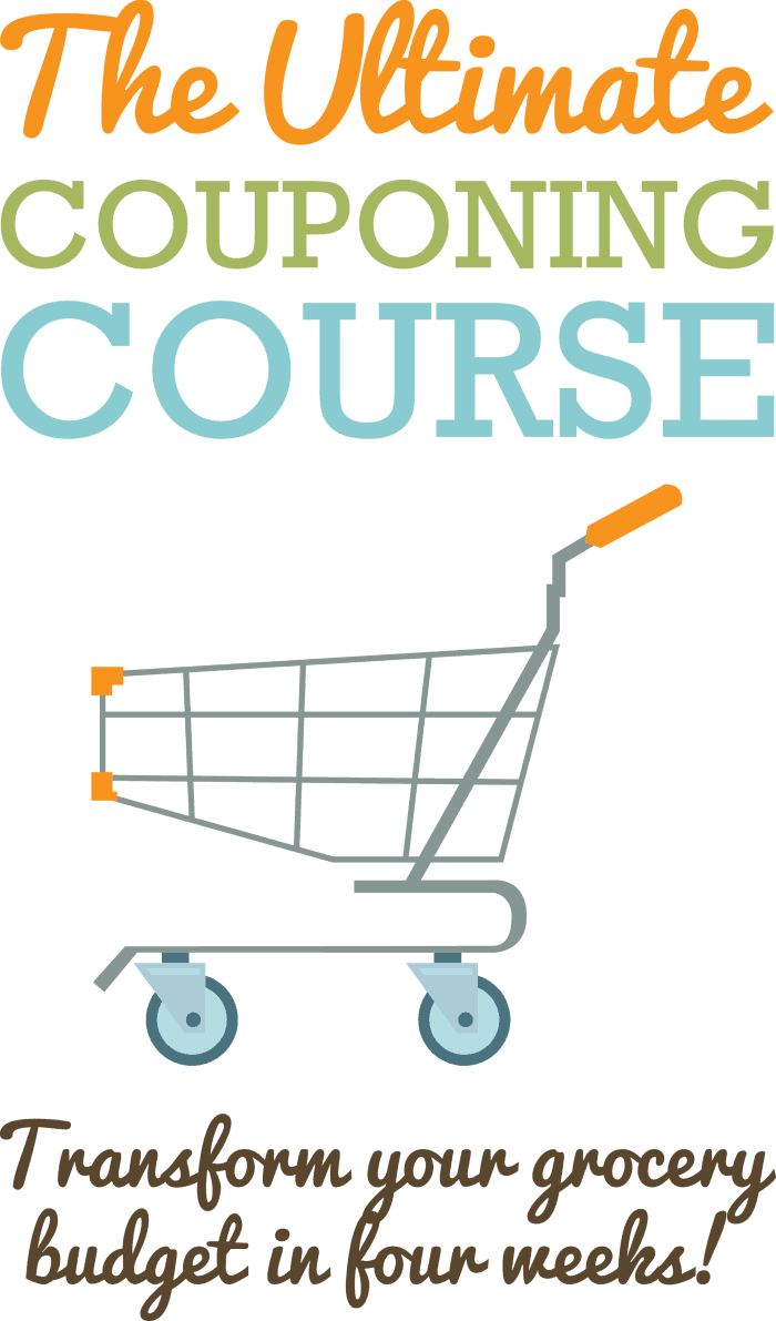 Ultimate Couponing Course to save money on budget