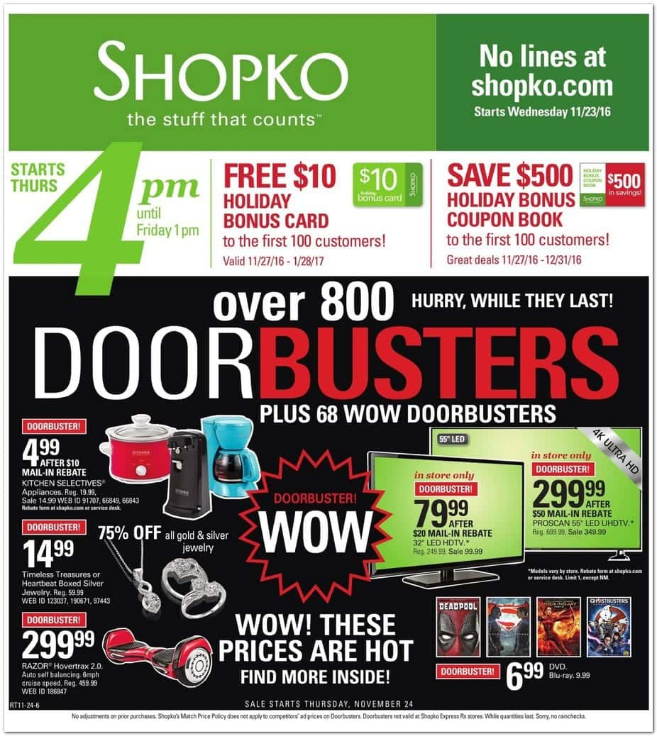 Kitchenaid Black Friday 2016 Amazon: ShopKo Black Friday Deals 2014