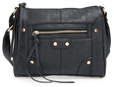 Cesca Nina Faux Leather Crossbody Bag