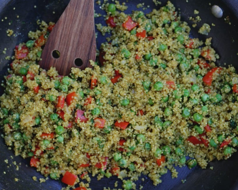 Colorful Quinoa Medley Side Dish