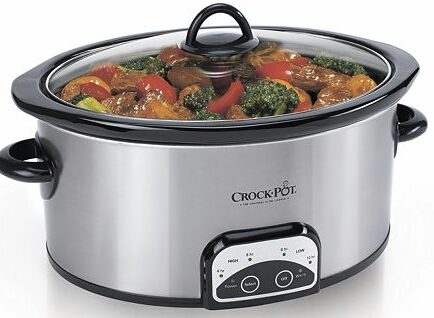 Crock-Pot 4-qt. Programmable Slow Cooker As Low As $5 After Coupons And Rebate