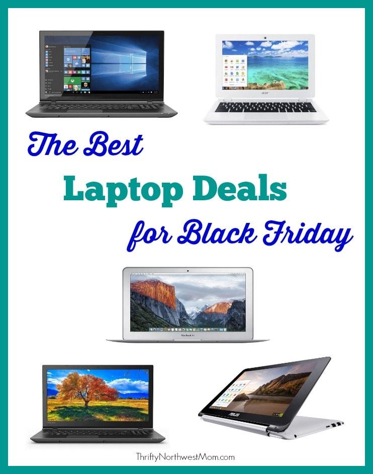 Laptop Deals for Black Friday – Apple MacBook, Toshiba Satellite Touchscreen, Chromebook & more!
