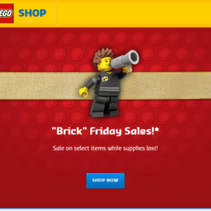 Lego Store Black Friday Sale