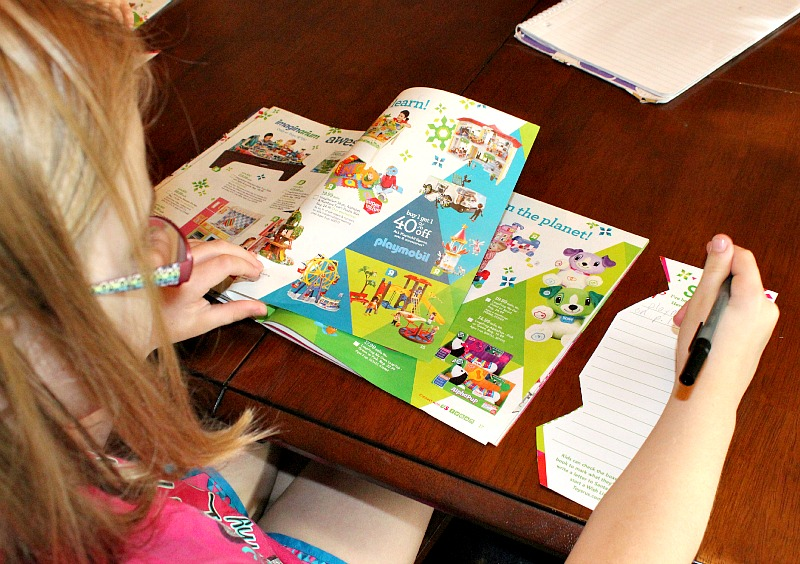 Making Christmas Lists with The Great Big Toys R Us Book of Awesome