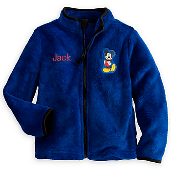 Mickey Mouse Fleece Jacket for Kids - Personalizable