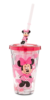 Minnie Mouse Tumbler with Straw - Small