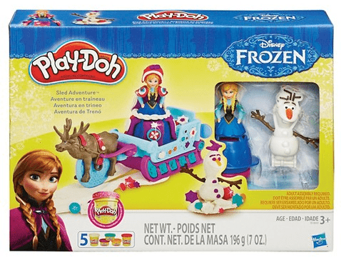 Play-Doh Sled Adventure Featuring Disney's Frozen $10.50 Shipped (Reg $17.99)
