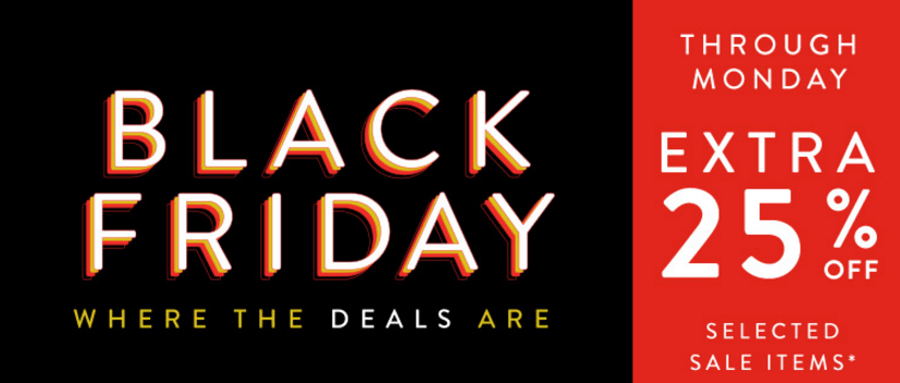 Nordstrom Black Friday sales