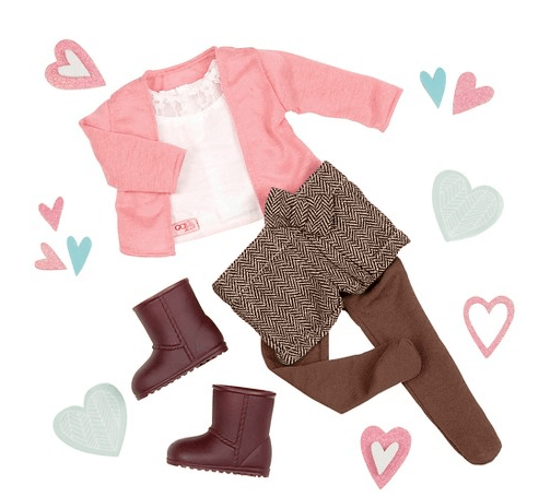 Our Generation Shorts Doll Outfit
