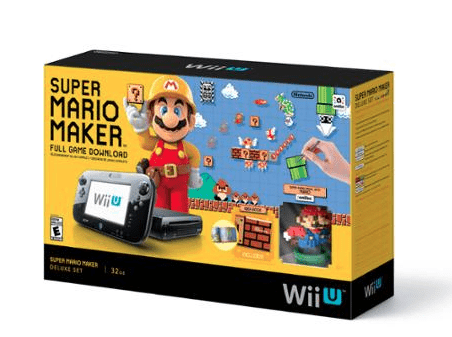 Wii U Console Deal with Super Mario Maker Deluxe Set  – $299.99!! Cyber Monday Deal Live
