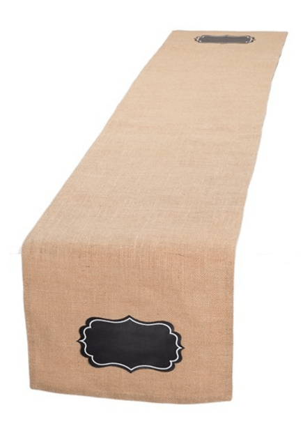 Design Imports Chalkboard Table Runner