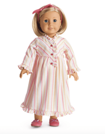 Kit's Striped Nightgown