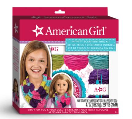 American Girl Infinity Knitting Set