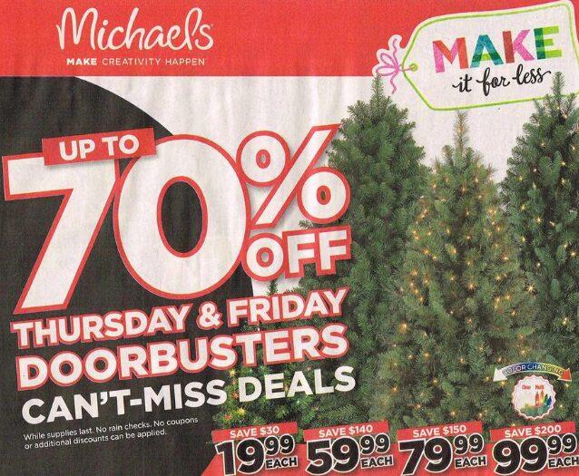 Michaels Black Friday Deals 2016