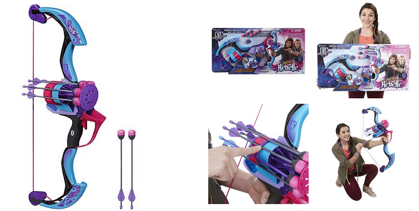 Nerf Rebelle Secrets & Spies Bow Blaster – 50% off at $12.49!