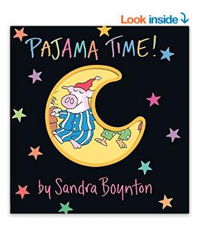 Pajama Time Board Book