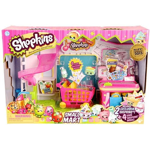 Shopkins supermarket set