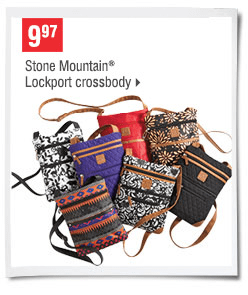 Stone Mountain Crossbody Bags