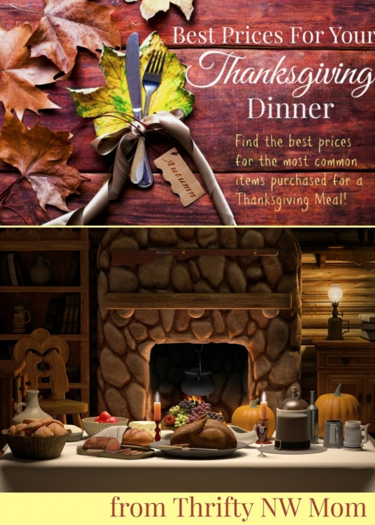 Best Prices This Week for Your Thanksgiving Meal!