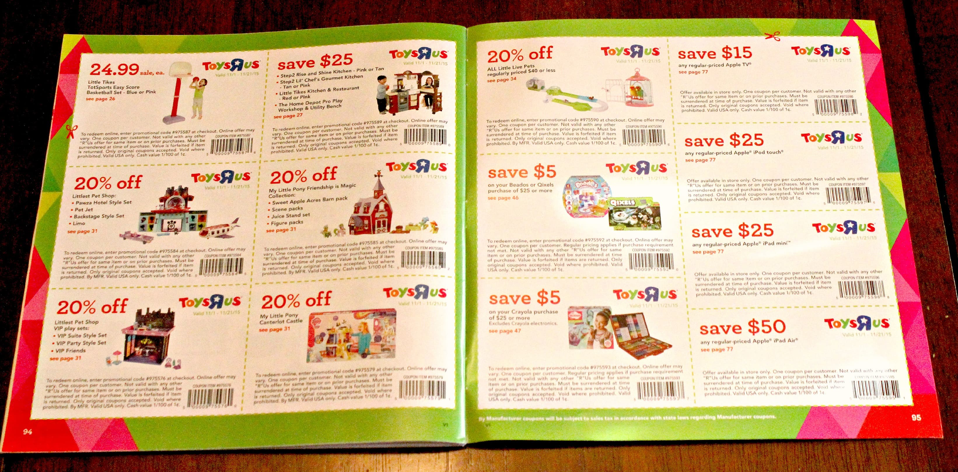 The Great Big Toys R Us Book of Awesome Coupons