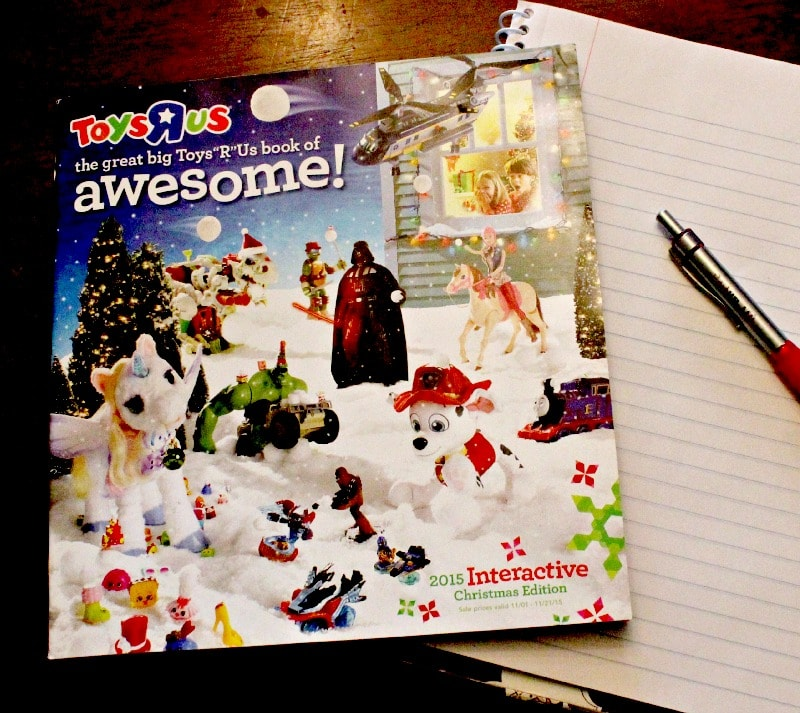 "The Great Bit Toys ""R"" Us Book of Awesome toy catalog"