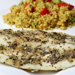 Flavorful Seafood Ready in Under 20 Minutes + a Veggie Quinoa Medley to Pair with Your Seafood!