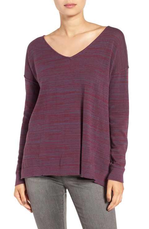 v-kneck-pullover