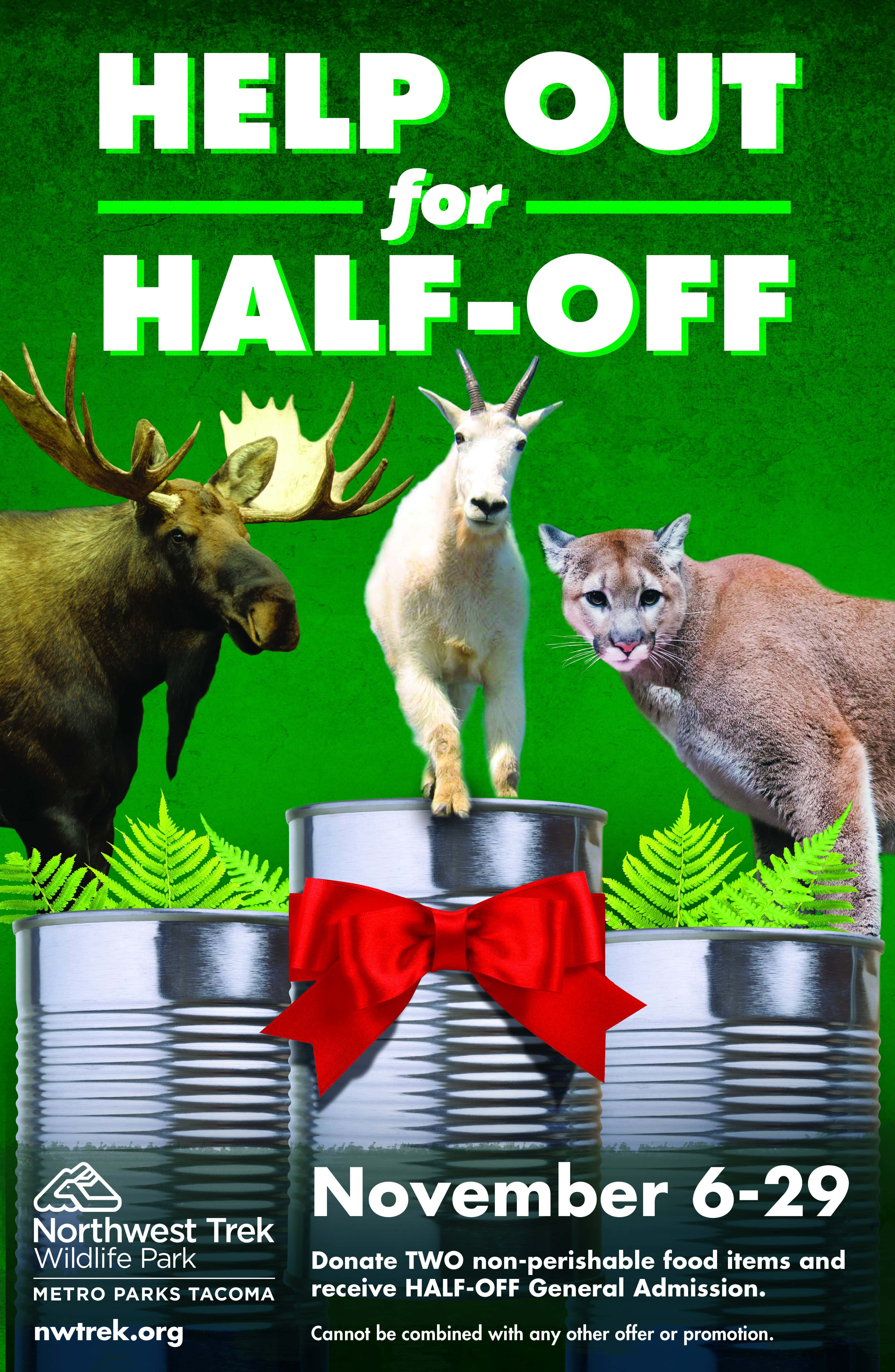 Nwa half off deals