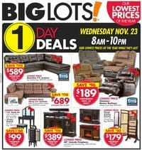 Big Lots Black Friday 2016