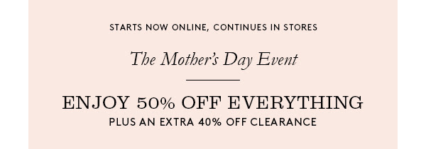 Coach outlet online mothers day sale