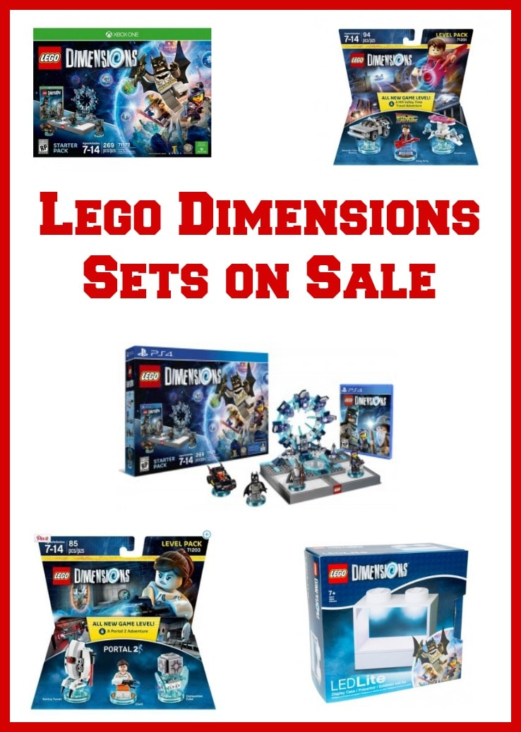 Lego Dimensions Sets On Sale Roundup Of The Best Deals At Amazon Target Amp Walmart Thrifty