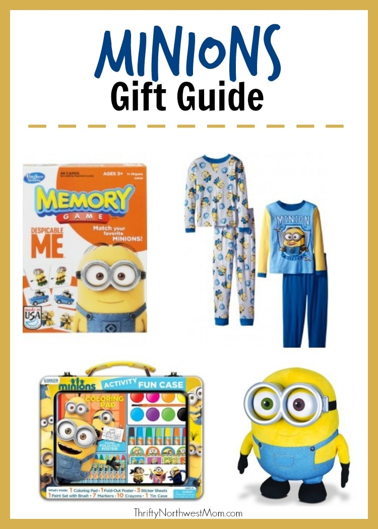 Minion Toys And Games : Minions gift guide toys books games clothes more