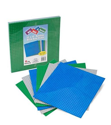 Brick baseplates for Legos