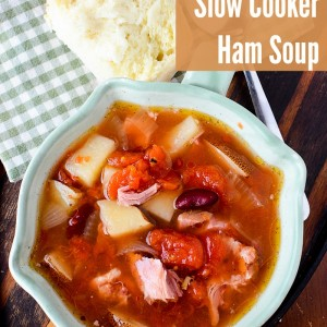 Slow Cooker Ham Soup