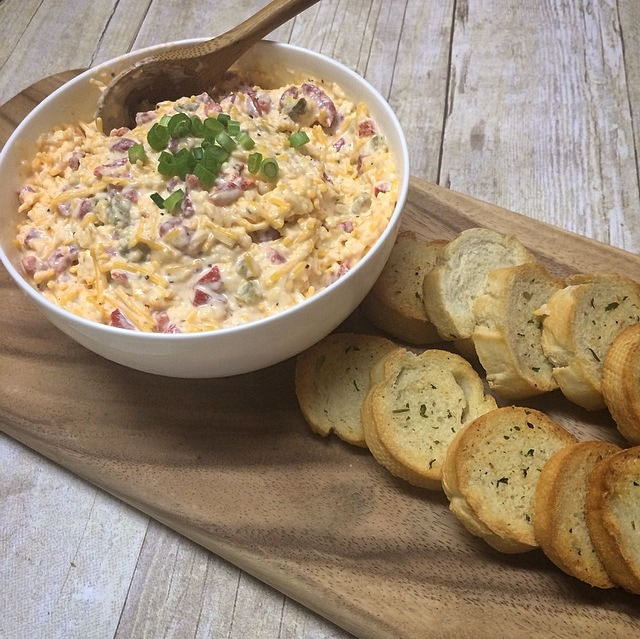 Pimento Cheese Dip Recipe – (No Cooking Required) Great for Game Days!
