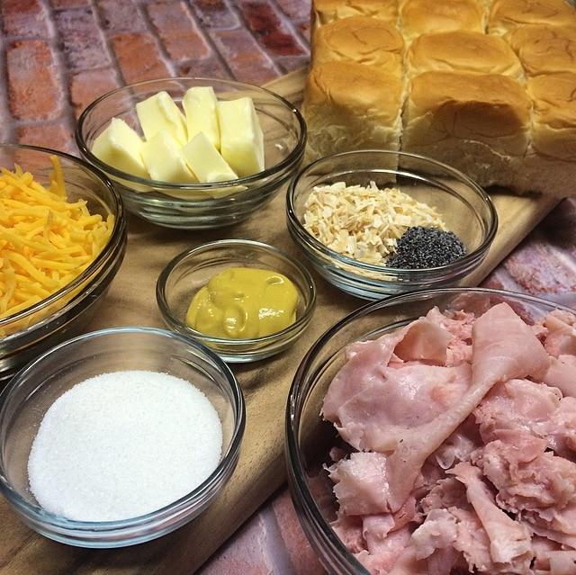 1.12 Sweet & Savory Ham Rolls PROCESS 1