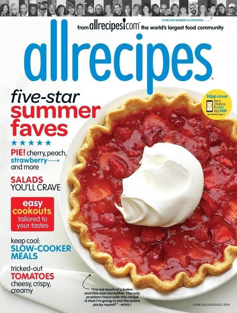 Allrecipes Magazine Subscription – $4.99 a Year! (83% Off)