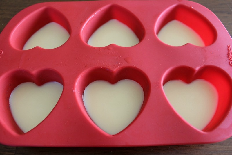 DIY Massage Bars with Essential Oils in Silicone Molds