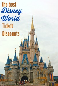 Disney World Ticket Discounts